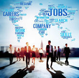 Jobs Occupation Careers Recruitment Employment Concept Royalty Free Stock Images